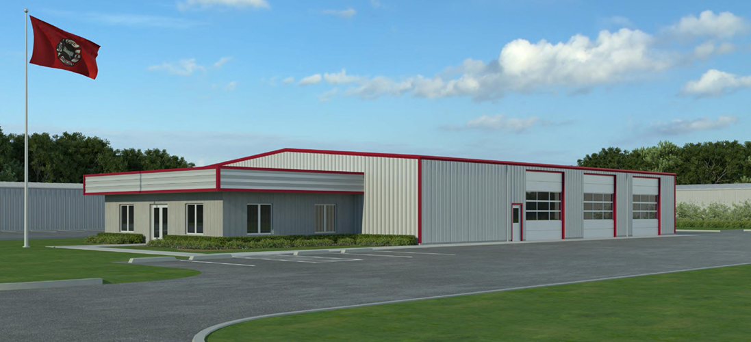Fire Station No 2 Rendering